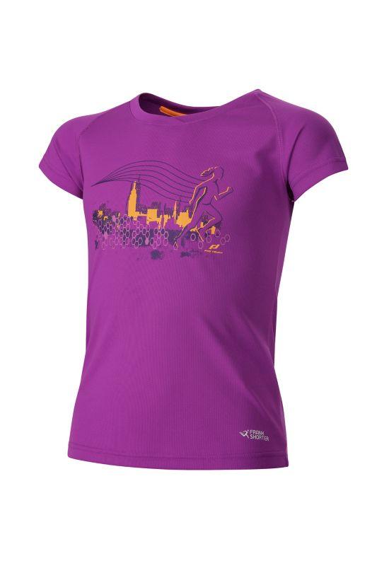 Rimini T-skjorte Jr VIOLET/ORANGE