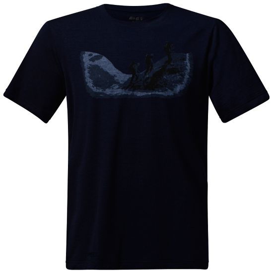 Tur Ull T-skjorte Herre