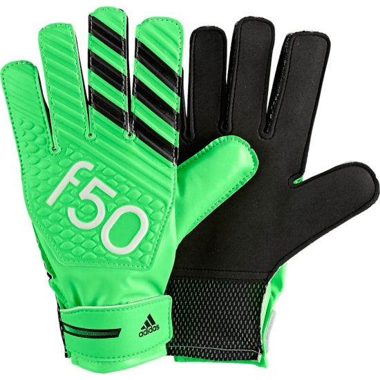 F50 Training Keeperhansker  SGREEN/BLACK/WH