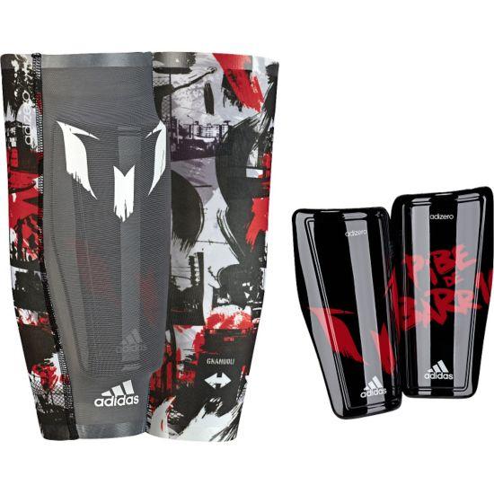 Messi 10 Leggskinn  BLACK/POWRED/WH