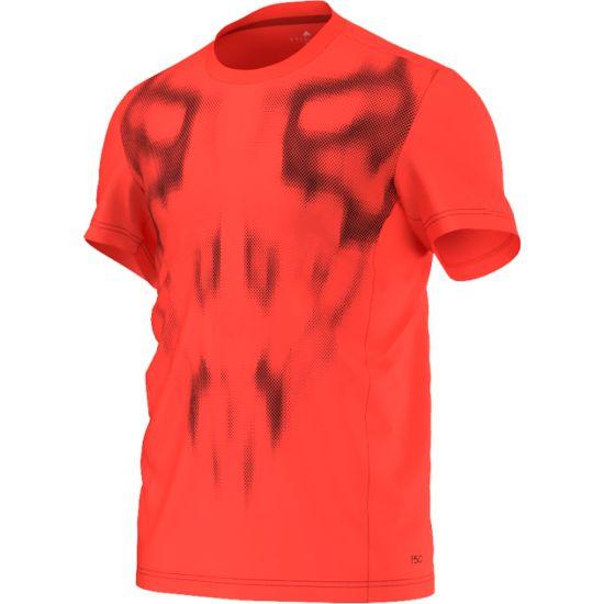 F50 Climalite T-skjorte  SOLRED