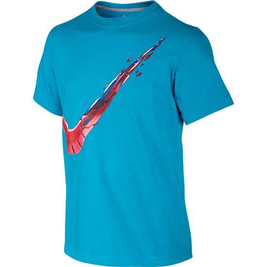 Swoosh Free Constant T-skjorte Junior 407-BLUE LAGOON