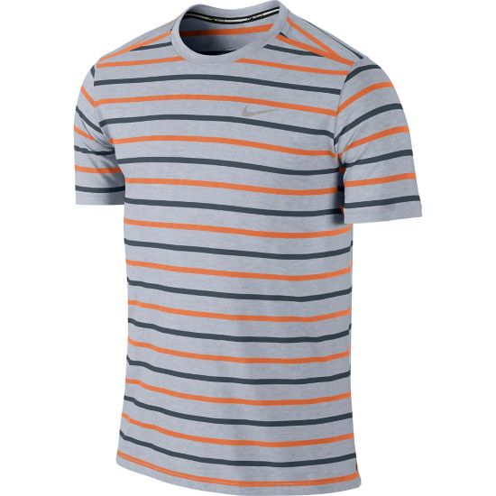 Tailwind Stripe Crew T-skjorte Herre