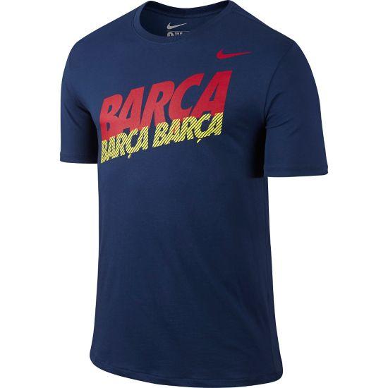 Barcelona Bomulls T-Skjorte Herre