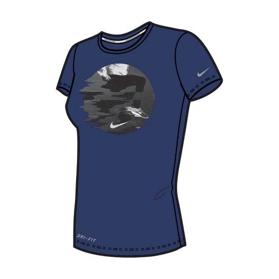 Run Blur T-skjorte Dame