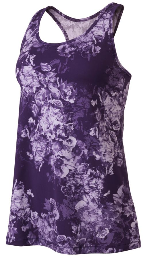 Bloom Loose Racerback Treningstopp Dame LILAC BLOOM