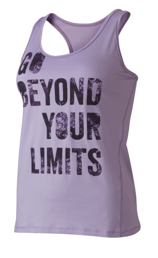 Casall Quote Racerback Treningstopp Dame PASTEL LILAC