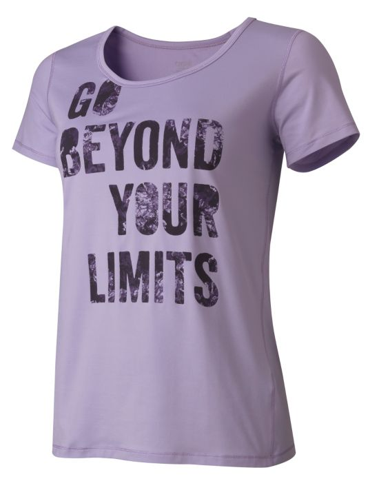 Casall Quote Tee T-skjorte Dame