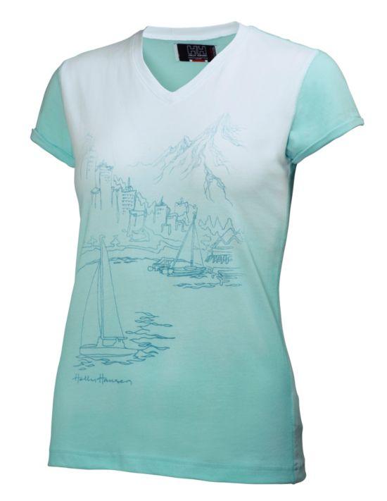 Idunn Graphic T-skjorte Dame