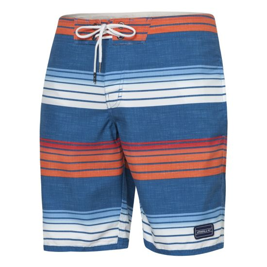 Santa Cruz Stripe Boardies Surfeshorts Herre BLUE AOP