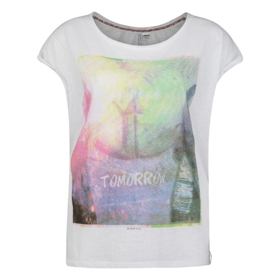 Beach Festival T-skjorte Dame SUPER WHITE