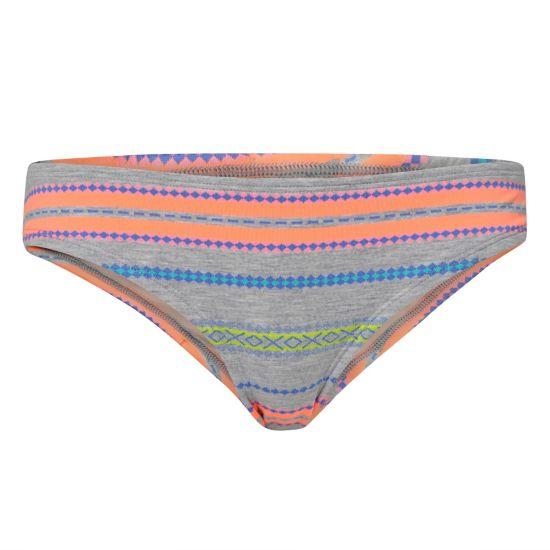 Sparkling Boyshort Bikiniunderdel Dame WHITE AOP WITH