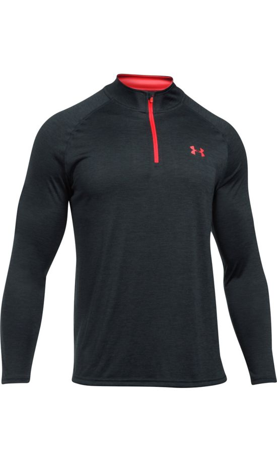 Tech 1/4 Zip Overdel Herre ANTHRACITE