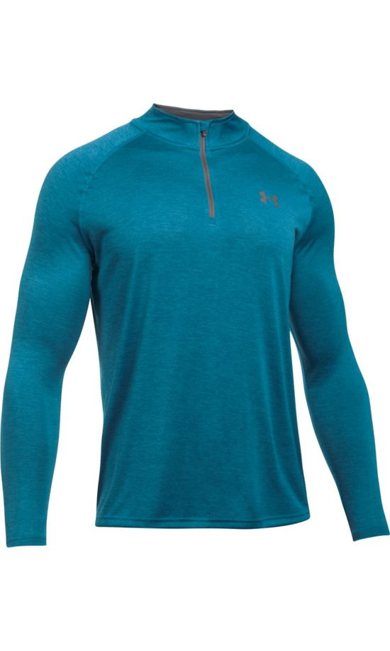 Tech 1/4 Zip Overdel Herre BAYOU BLUE