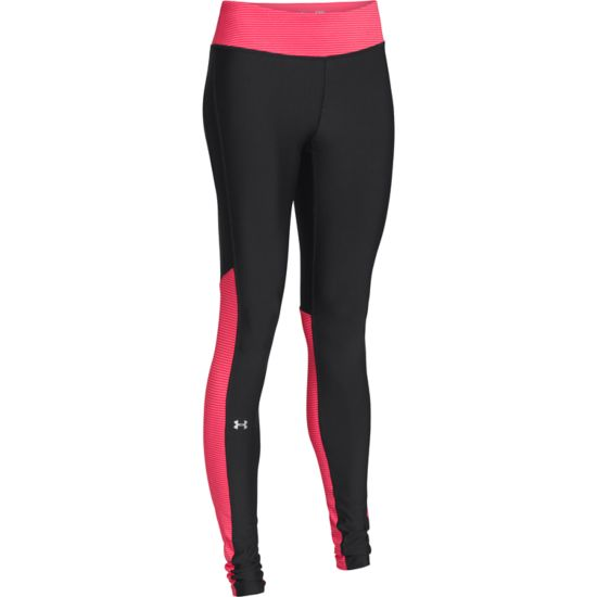 Heatgear Alpha Legging Tights Dame SORT/ROSA