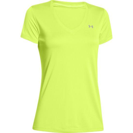 Tech T-skjorte Dame GUL