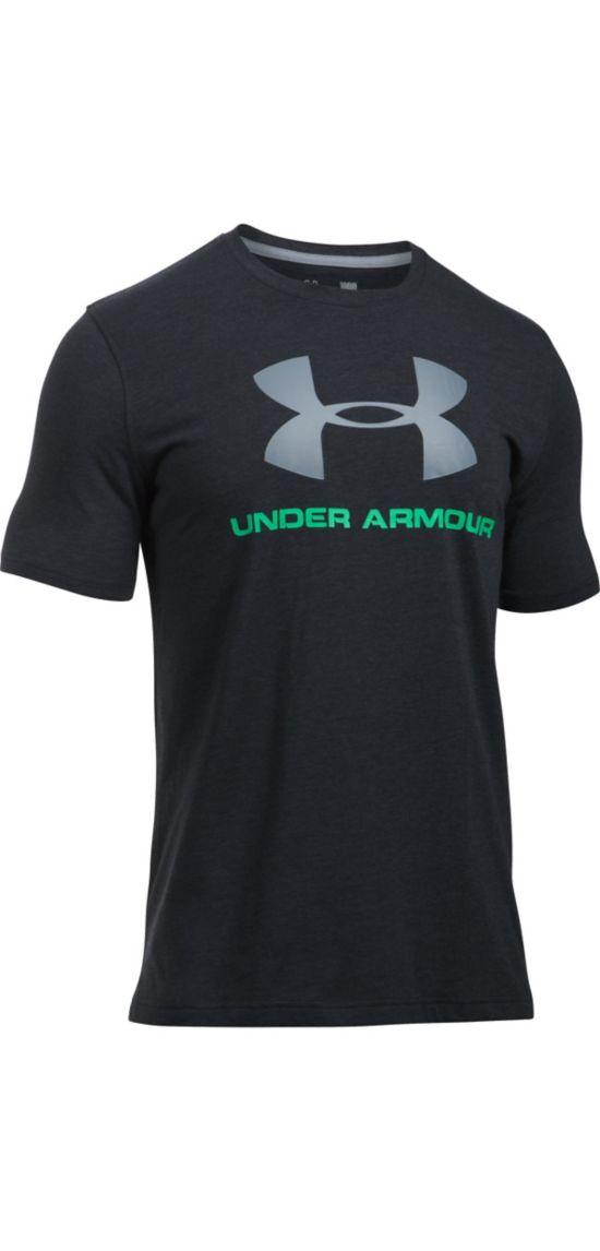 Sportstyle Logo Trenings T-Skjorte Herre SVART