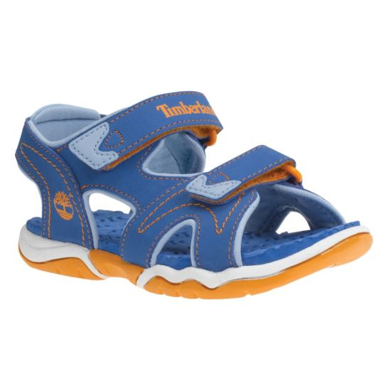 Adventure Seeker 2 Strap Sandal Barn  BLUE/ ORANGE