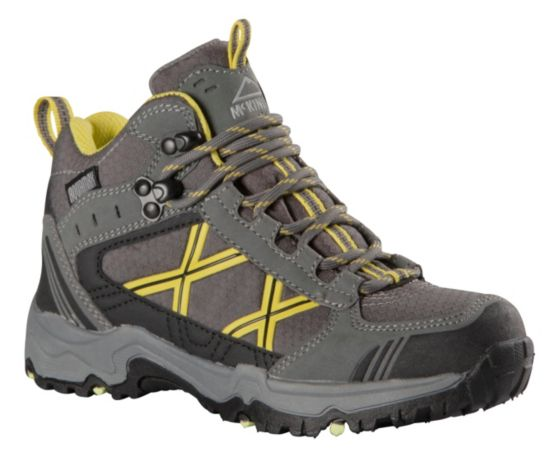 Kona Mid II AQX Hikingsko Jr GREY/BLK/LIME