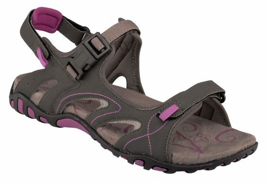 Stray Sandal Dame GREY/PURPLE
