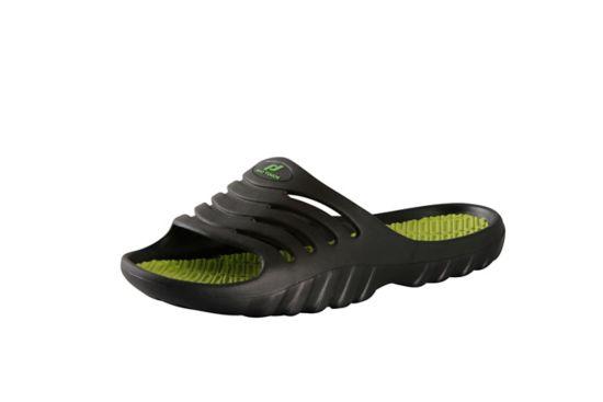 Pamplona Slippers Herre BLACK  /GREEN