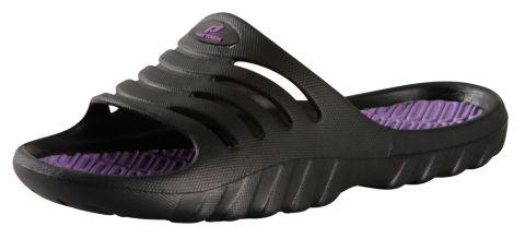 Pamplona sandal dame BLACK/PURPLE