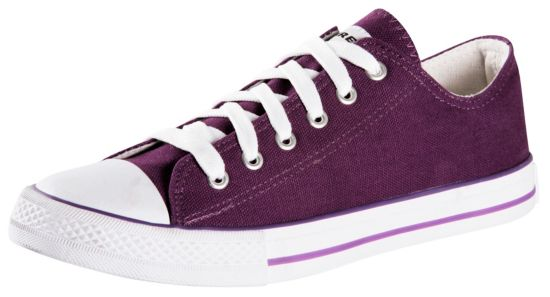 Canvas Low II Fritidssko Dame PURPLE
