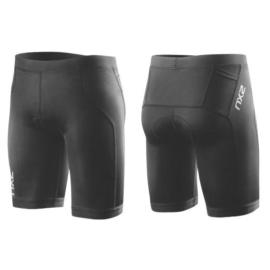G:2 Active Tri Shorts Herre BLACK/BLACK