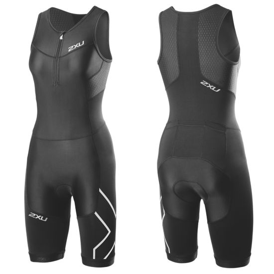 Perform Compr. Trisuit Dame BLACK/BLACK