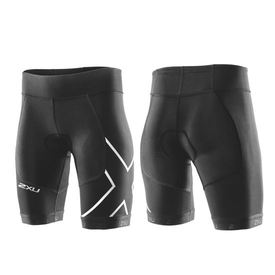 Perform Compr. Tri Shorts Dame BLACK/BLACK