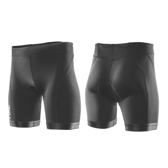 Active Tri Shorts Dame BLACK/BLACK