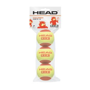 Tip Red tennisballer junior 3-pk