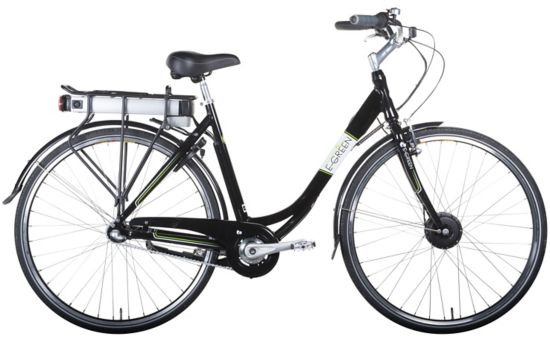 P2 Classic El-sykkel Dame -15 BLACK