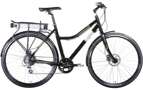 P2 Hybrid El-sykkel Dame