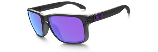 Holbrook Black Ink/ Violet Iridium Polarized