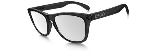 Frogskins Black Ink/ Chrome Iridium Polarized