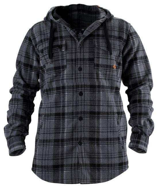 Hooded Shirt TRUE BLACK/SNOW
