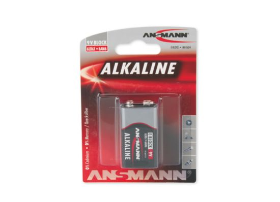 Alkaline 9 Volts Batteri
