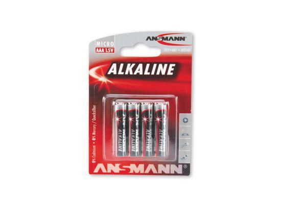 Redline 4xAAA Batterier