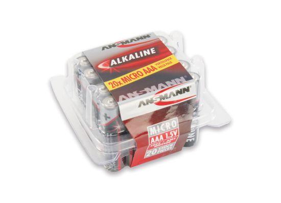 Redline 20xAA Batterier