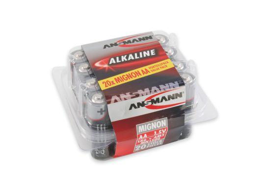 Redline 20xAAA Batterier