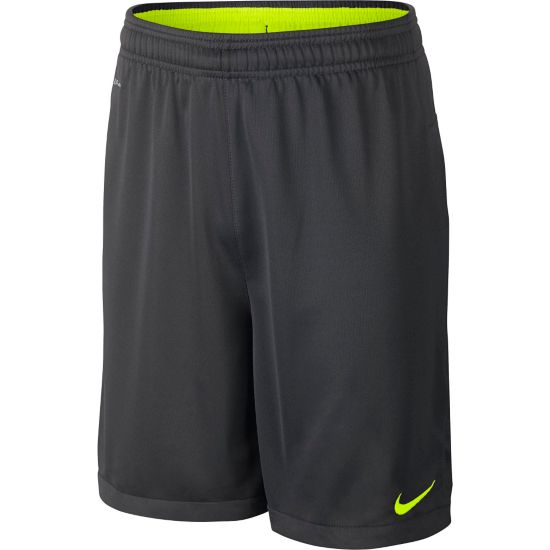 Academy Shorts Jr. ANTHRACITE/VOLT