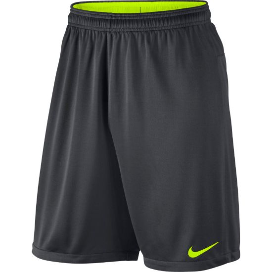Academy Knit Short 2 ANTHRACITE/VOLT