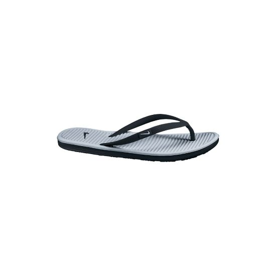 Solarsoft Thong II Sandal Dame BLACK/METALLIC
