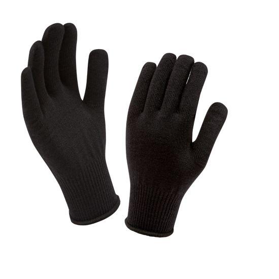 Merino Glove Liner SORT