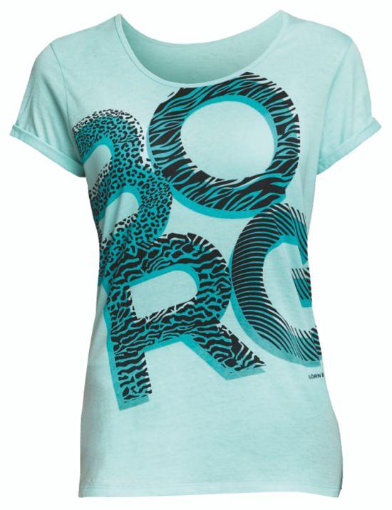 Samara T-skjorte Dame ARUBA BLUE