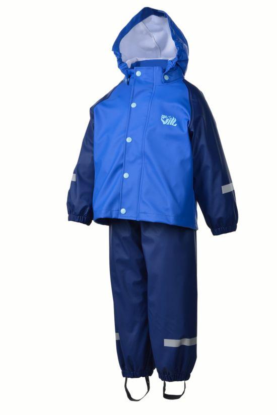 Plopp Regnsett Barn OLYMPIAN BLUE