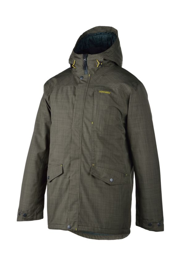 Stokka Parka Herre GREEN GRAPE LEA