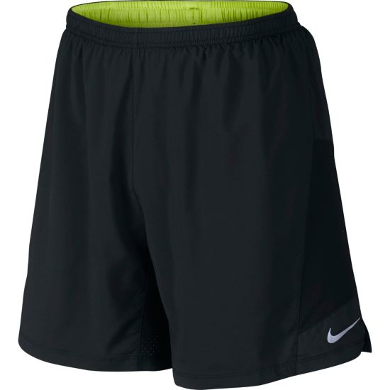 "7"" Pursuit 2-In-1 Treningsshorts Herre 010-BLACK/BLACK"