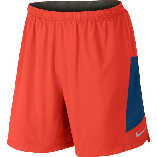 "7"" Pursuit 2-In-1 Treningsshorts Herre 852-MAX ORANGE/"